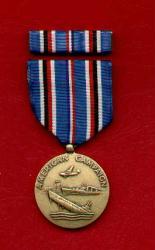 American Campaign Military Award Medal with Ribbon Bar
