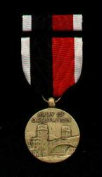 Army of Occupation AOO Medal with Ribbon Bar