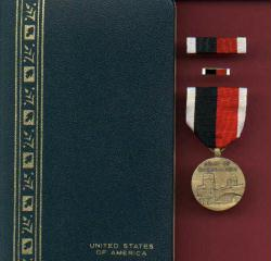 Army of Occupation medal complete cased set