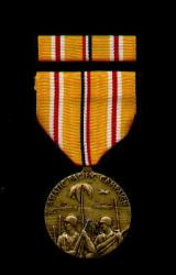 Asian Pacific Campaign Military Award Medal with Ribbon Bar