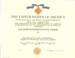 Army Distinguished Flying Cross