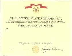 Army Legion of Merit