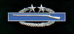 Combat Infantry Badge 3rd Award CIB