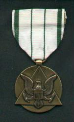 Army Commander's Award medal for Public Service medal