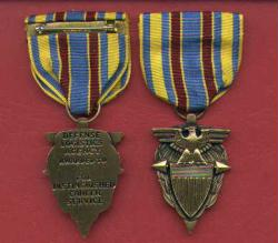 US Defense Logistics Agency Distinguished Career Service medal