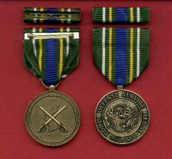 NEW Korean Defense medal with ribbon bar