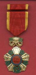 SOLD-Vietnam National Order medal 5th Fifth Class with ribbon bar
