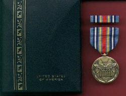 New War on Terrorism Expeditionary medal cased set with ribbon bar and lapel pin