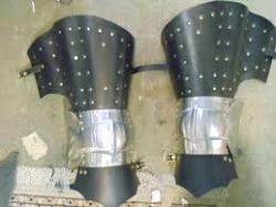 14th century Plated Legs (SPRING STAINLESS PLATES)