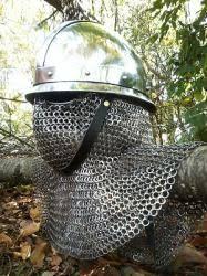Stainless Byzantine Helm (13th Century)