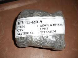 Bag of 1000 Loose Rings and Rivets