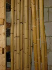"Thick 9 foot stave of rattan (1 1/2""-1 3/4"" diameter)"