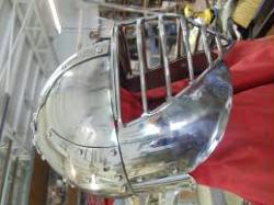 Stainless Mongol Helm