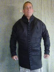 Black Arming Cote (Gambeson) Sizes M-XXL
