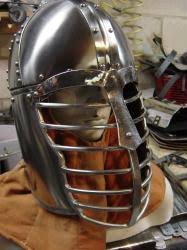 Stainless Roman Spangen Top Helm