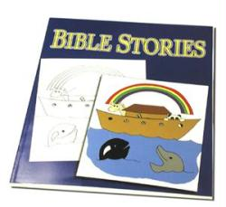 Coloring Book - Bible Stories- Trick